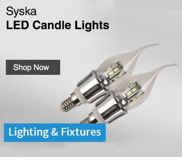 Syska LED Candle Lights