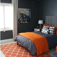 Charcoal+Blunt orange example