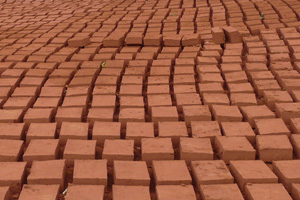 Drying of bricks