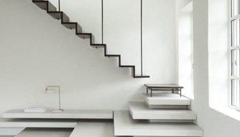 Staircase inside a building