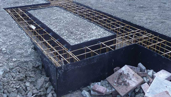 Foundation of a Building