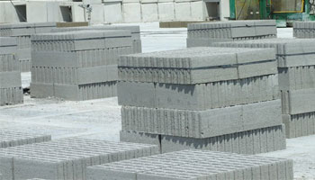 Concrete Blocks at Site