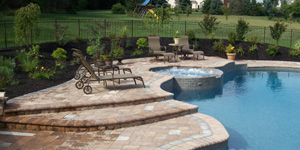 Landscaping Example with Pool