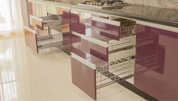 Example of modular kitchen