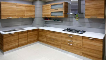 Furniture layout in modular kitchen