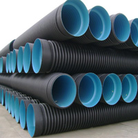Plumbing pipes made with plastic