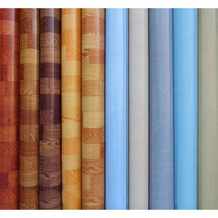 types of pvc flooring sheets