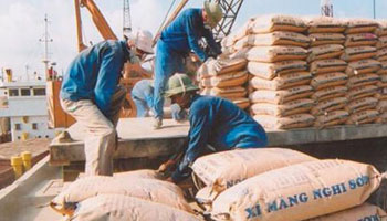 Handling of Cement Bags