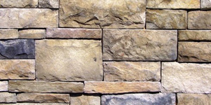 Square rubble masonry
