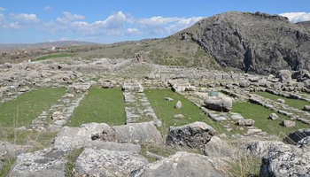 Structure of Sacred Place from Bronze Age