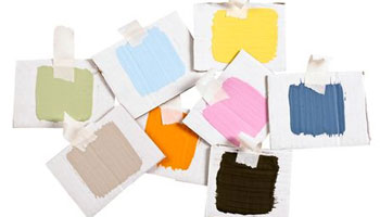 Paint Samples and Swatches