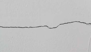 Horizontal Cracks on Walls