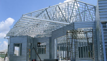 Steel Truss Roofing Example