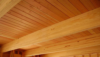 Example of Glulam in Construction
