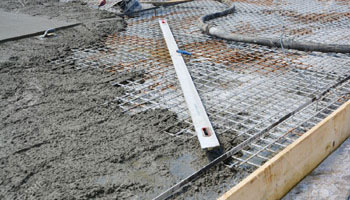 Reinforced cement concrete for foundations
