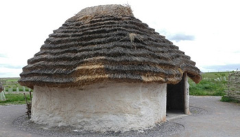 Example of a Hut in Stone Age